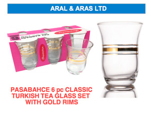 ✅ PASABAHCE Classic *Turkish Tea* Glass Set - Ideal for Home or as GIFT! ✅