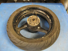 HONDA CBR 600 F4I CBR600F4i FI 2001 - 2006 REAR WHEEL WITH TYRE