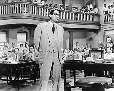 Gregory Peck as Atticus Finch in court room To Kill a Mockingbird 24X30 Poster