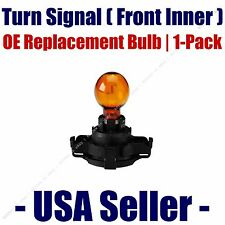Front Inner Turn Signal Light Bulb 1pk - Fits Listed BMW Vehicles - 5200/PY24W