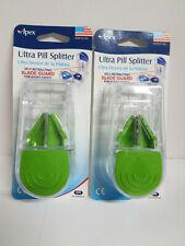 Apex Ultra Pill Splitter-74068 / 2 for $6.00 / New, Sealed