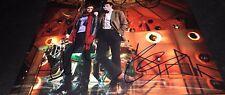 Matt Smith & Karen Gillan Doctor Dr Who Hand Signed 11x14 Photo Autographed COA