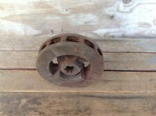 Antique Industrial Farm Machinery Gear