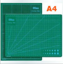 Leather Craft PVC A4 Paper Mat Board Two-sided Graduation Board Cutting Tool