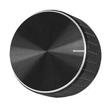 5x(alluminio nero Amplificatore Controllo volume Wheel manopola R1F4 G5W0 L8N6