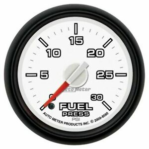 "Autometer Gauge, Fuel Press, 2 1/16"", 30psi,Digital Stepper Motor, Fit Ram Gen3"