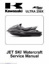 Kawasaki jet ski service manual 2007 & 2008 ULTRA 250X