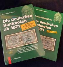 Die deutschen Banknoten ab 1871 Rosenberg/Grabowski 21. Aufla. + Konkordanzliste