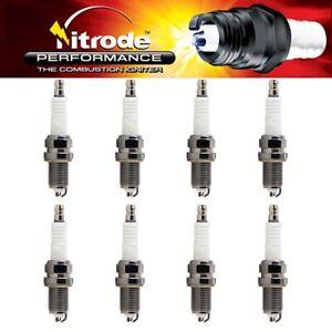 Nitrode Performance Spark Plugs for Dodge 1999-2003 Ram 2500 Van NP21 - Set of 8