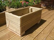 2ft lungo in legno TAVOLE per terrazza fioriera/Trogolo/scatola di finestra. 60cm x 30cm 30cm.
