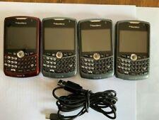 BlackBerry Curve 8330 - 3 Titanium and 1 Red (Sprint) Smartphones