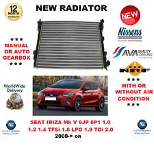 Pour Seat Ibiza V 6J5 6P1 1.0 1.2 1.4 TFSI 1.6 LPG 1.9 Tdi 2.0 2008> Radiateur