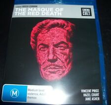 The Masque Of The Red Death (Australia Region B) Bluray – New (Not Sealed)