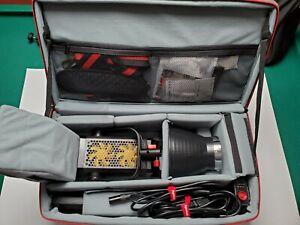 Aputure LS 300d Light Storm daylight LED w/ Bag & Accessories