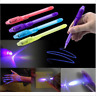 3Pcs Useful Spy Pen Invisible Ink in UV Light Magic Secret Messages Tools Gift