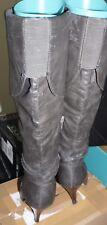 Buffalo Stiefel  - High Heel - grau - 39 - gern getragen