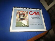 RARE CAA Sports Marketing Co Package Given To Adrian Peterson Oklahoma Sooners