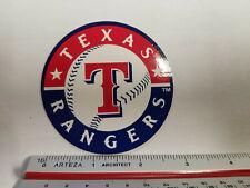 "Texas Rangers MLB 3"" Round Logo Sticker"