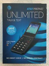 *Brand New* At&T Cingular Flip 3 Prepaid Cellphone (Black) *Brand New*