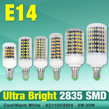 e27/e14/g9/gu10/b22 high efficiency light 2835 chip led corn bulb cool/warm lamp