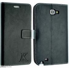 FOR SAMSUNG GALAXY NOTE 1 I9220 N7000 FIT LEATHER CASE COVER WALLET POUCH FLIP