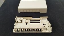 LEVITON 41089SIP   QUICKPORT 6-PORT SURFACE MOUNT DATA JACK HOUSING IVORY