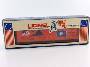 Lionel 6-7610 Spirit of '76 Virginia Box Car O O27 Gauge 7610