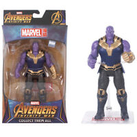 Marvel Avengers Infinity War 7inch Thanos Action Figure Movable Model Statue Toy