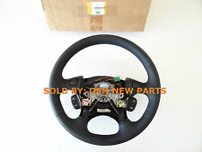 Land Rover Freelander Black Leather Steering Wheel Genuine Cruise Radio OEM NEW