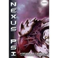 DEADZONE NEXUS PSI ROLEPLAYING GAME BOOK BRAND NEW CHEAP!!