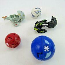 Bakugan Battle Brawlers Lot of 5 Transforming Figure Toys Collection