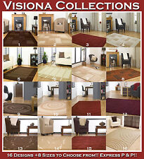 Visiona Soft Checked Rugs