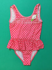 NWT GIRLS GB GIRLS PINK ONE PIECE SOUTHERN Y/'ALL SWIM SWIMMING SUIT SZ 5 6 10 12