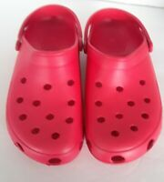 Tri Leg Crow Crocs with Non Marking Sole - Sizes 6-10 still in plastic
