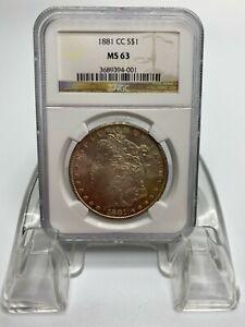 1881 CC Carson City Morgan Silver Dollar NGC MS63