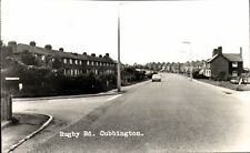 Cubbington near Leamington Spa. Rugby Road by Midland View Co.