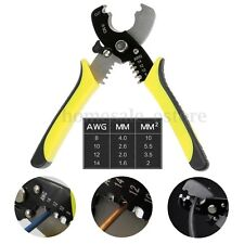 Versatile Electric Cable Cutter Wire Stripper Stripping Plier Hand Tool 8-14AWG