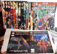 1990s Star Trek:Deep Space 9 MALIBU Comic Book Set of 16 + Annual #1-16 (M5330)