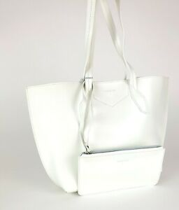 PATRIZIA PEPE  Shopper Handtasche Tasche + Pochette Weiß Bag