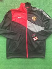 NWT Manchester United MUFC Official Merch Warm Up Jacket Coat Rare Mock Neck
