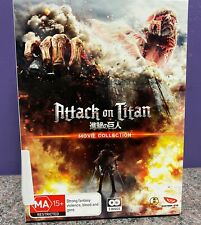 Attack on Titan Movie Collection DVD Anime Live Action