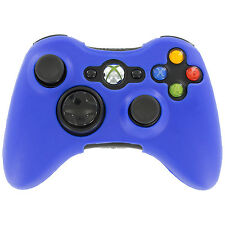 ZedLabz silicone case for Xbox 360 controller skin protector cover grip - blue