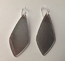 "SILPADA - W3276 - Textured Sterling Silver ""Etched Effect"" Earrings - NIB!"