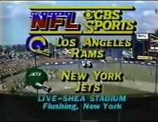 1983 Los Angeles Rams at New York Jets DVD Eric Dickerson