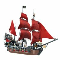 Ideas 16009 Pirates Of The Caribbean Queen Anne's Revenge Ship Building Blocks