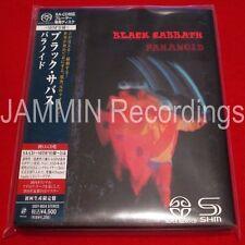 BLACK SABBATH - PARANOID - JAPAN MINI LP SACD SHM - OUT OF PRINT UIGY-9034 - CD