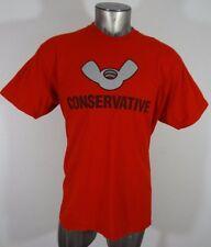 Shirt woot Conservative wingnut men's t-shirt red XL