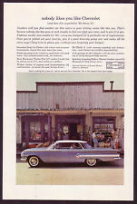 1960 Vintage Chevrolet Impala Sport Sedan Car Photo Print AD