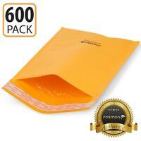 "200 #0 6x10 /""EcoSwift Brand Kraft Bubble Mailers Padded Shipping Envelope 6 x 10"
