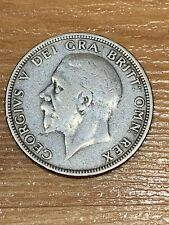 1929 King George V Great Britain One 1 Florin Silver